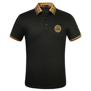 Designer Versace neuen Modemarke 2020 Sommerbaumwoll HAKA-T-Shirt