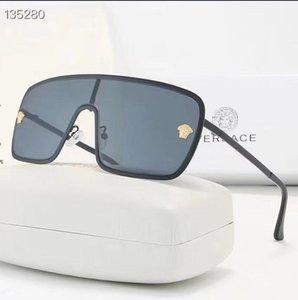 perle Fashion Designer Lunettes de soleil de haute qualité Marque Polarized Des lunettes de soleil lunettes pour femmes lunettes cadre métal 8 couleurs 2039