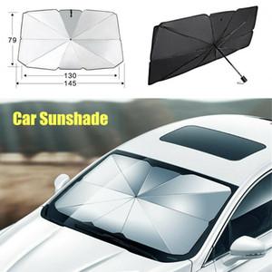 Pára-brisa do carro janela da frente Tape Pára-sol tampa Parasol Prata Luz Solar Protecção Interior de carro Acessório Pára-brisas Pára-sol
