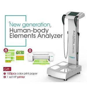 Состав Professional Body Fat Analyzer Body Analyzer Body Analyzer Элемент машины / CE Бесплатная доставка горячей продажи