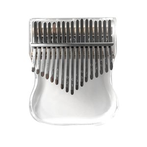 17-tone Crystal Thumb Piano Metal Key Gourd style with Dustproof and Waterproof and Drop-proof Piano Bag with Mallet