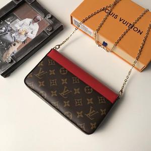2020 High Quality Luxury Design Womens Leather Trend Sac D &#039 ;éPaule Shoulder Bag Small Flap Messenger Crossbody Designer Clutch Purses