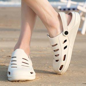Oversized Beach Sandals morbide pantofole Hollow Luce 2020 nuovi uomini di estate