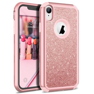 Luxury Hard Case For iPhone 11 Pro XR X Xs Max max Case Glitter Bling Crystal PC Cover For iPhone 7 8 6 6s Plus Case Cute capa