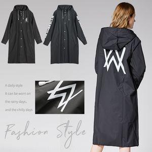 ARrdr Fashion Marke Regenmantel Alle Kleid Walker gedruckt Mode Marke Regenmantel Alle Paar Kleider Windjacke Windjacke Walker gedruckt cou