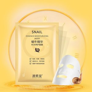 Easy Absorb Snail Essen Acne Treatment Black Face Anti Puffiness and Aging Skin Care masks Oil-Control Mascarilla Wholesale cheap face masks