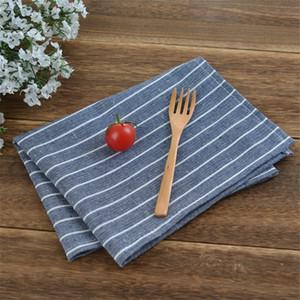 5шт бытовых салфеток ткань, еда коврика, искусство ткани из чистого хлопок прямоугольного хлопка конопли салфетки подушечка ткань контракт
