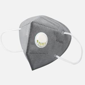 KN95 20pc 3-camada de filtro máscaras descartáveis face não-tecidos máscaras Boca PM2.5 Anti Poluição Anti-Poeira Segurança Unisex Protective 4 cores azul-de-rosa