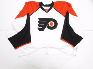 Cheap Custom Philadelphia Flyers auswärtig HERAUSGEGEBEN EDGE JERSEY GOALIE CUT 60 Mens genähtes Personalisierte Hockey Jerseys