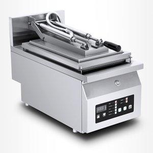 2020 tête commerciale électrique Double épaissie en acier inoxydable Fried Dumpling machine Steak machine Grande machine Pancake