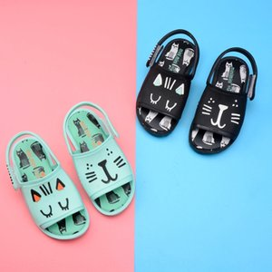 2020 new Sandals and Slippers children's sandals Melisa jelly shoes cat butterfly leaves boy and girl slippers
