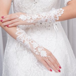 accessory dress adult finger Bridal Bride wedding accessory Bride wedding dress adult finger Lace Bridal Gloves lace gloves