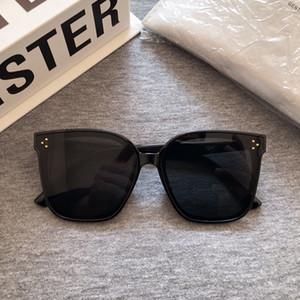 2020 nuevas gafas de sol de diseño de moda de los hombres coreanos GM marco grande gafas de sol de las mujeres de la vendimia Gafas de sol suave paquete original SU T200801