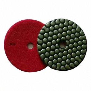 ST13 Сухие Полировка колодки 3 дюйма 4 дюйма Алмазный полировальный диск 3 Step Сухие колодки для гранита мрамора 10шт PJBW #