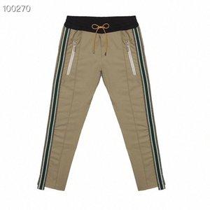 2019 Rhude Sweatpants BLACK GREY Pantalon Hommes Meilleur Pantalon Armée Qualité Joggers gris camouflage Rhude Sweatpants c7h0 #