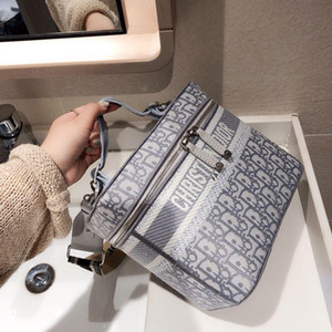 The New Canvas Embroidered Letters Portable Shopping Brand Designer Bag With The New Tide Fashion Star Bag Handbag Handbags Women Bags g329