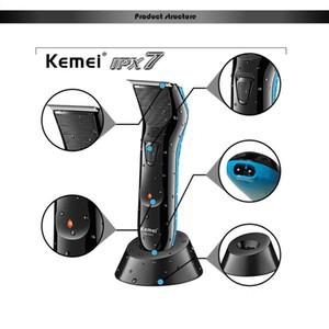 Kemei 0mm Trimmer per capelli KM-5025 Electric Hair Clipper Barbiere Capelli tagliatrice per uomo strumento Rasoio ricaricabile barba barba rasoio barbiere