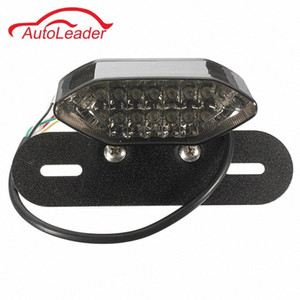 Мотоцикл Quad ATV 16 LED Tail Light Turn Индикатор сигнала номерного знака Лампа diIr #