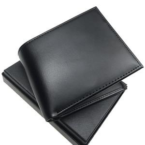 Erkekler tasarımcının cüzdan moda high-end deri siyah kısa nakit klip cebi kutusu ile tasarımcı kart sahipleri portföyü cüzdanlar cüzdanlar