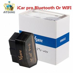 Vgate iCar pro OBD OBD2 ELM327 Bluetooth 4.0 / WIFI voiture Scanner de diagnostic pour Android / logiciel V2.1 voiture de diagnostic Outil BfGU #