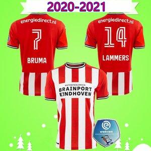 20 21 soccer jerseys 2020 2021 MALEN camisa de futebol IHATTAREN DUMFRIES GAKPO BRUMA LAMMERS mens football shirt