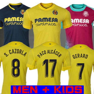 20 21 Villarreal CF maglie di calcio 2020 2021 Casa Paco Alcacer bacca FORNALS camicia di calcio Anguissa Ekambi IBORRA S.CAZORLA football