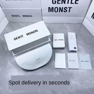 New Original White V  sun packaging box with outer box handbag case sun glasses glasses case + card