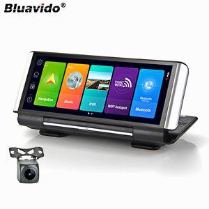 Bluavido 7 Inch 4G Android 8.1 Car DVR GPS 2G FHD 1080P video recorder Dual Lens Dashboard Camera WiFi App remote Monitoring