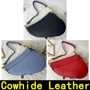 Designer Handbag Saddle saco de alta qualidade couro genuíno com alça de ombro Bolsa de Metal pendant Bolsas de ombro mulheres Bandoleira bolsas saco