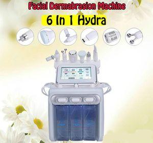 6en1 H2O2 pequeña burbuja de oxígeno Hydro-dermoabrasión Equipo de Aqua Peel Water Jet Peel H2O2 para salón de belleza