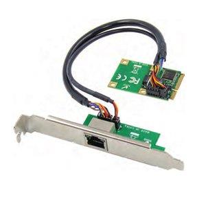 mini-PCIe de porta única placa de rede do servidor RJ45 Gigabit Ethernet NIC Placa de Rede Mini PCIE Gigabit RJ45 LAN 1000M para mpcie