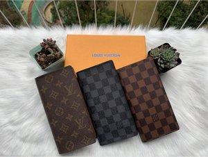 ZIPPY PORTAFOGLIO VERTICALE il modo più elegante per portare in giro i soldi, carte e monete di progettazione uomini famosi titolare della carta di borsa in pelle lungo di affari