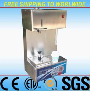 Ce RoHS Approved Mc Flurry Ice Cream Machine Mixer Mcflurry Milk Shake Maker Blender with disposable Spoon and jams extruder