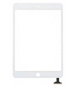 Para Mini iPad 1 2 pantalla táctil de cristal digitalizador Asamblea con IC con botón del hogar del pegamento adhesivo calcomanía de reemplazo de Reparación mini-200PC