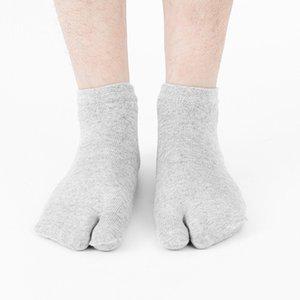Nueva llegada del dedo del pie calcetines dedos separados Olor resistente algodón poliéster tobillo Medias Deportes Fitness Footwear