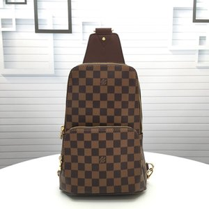 One shoulder bag, fashionable classic bag for men and women, various colors, free delivery;b007 m41719 size:21..31..9cm