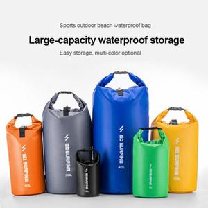 Viajes Nueva Playa Mochila Rafting Hombro Bucket natación del bolso para hombre del camping al aire libre Equipo impermeable Bolsa SB002