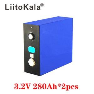 2PCS LiitoKala 3.2V 280Ah lifepo4 battery DIY 12V 280AH rechargeable battery pack for E-scooter RV Solar Energy storage system