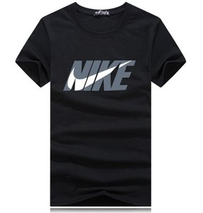 2018 Summer New Men T Shirt Short Sleeve O Neck Print Tshirt Fashion Mens T-Shirt Male Tops