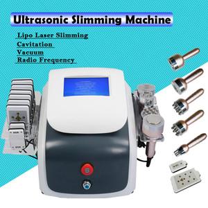 New ultrasonic cavitation lipo laser slimming weight loss machine ultrasonic Vacuum RF slimming fat removal machine