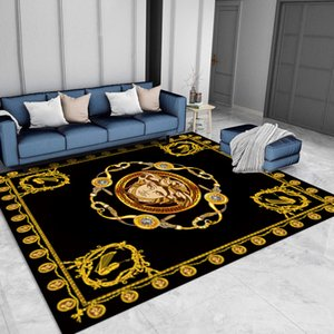 2020 new Top luxury minimalist carpet Tide brand light luxury living room carpet bedroom carpet Bedroom adornment rug Can be washed
