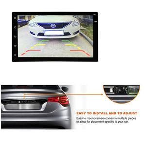 Металл автомобиля рамки номерного знака с HD RearView Цветная камера CMOS Водонепроницаемая 170 градусов PZ413C POST