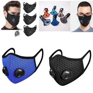 자전거 블랙면 장식 조각 라인 스톤 천 안면 마스크 재사용 가능한 마스크 천 maske 아이 마스크는 얼굴이 조정 사이클링 스포츠 훈련 마스크에 직면