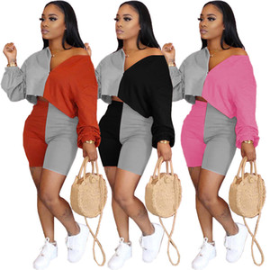 2020 New Women's Clothing Cheap China wholesale European and American Women's Two Piece sets Sexy strapless loose fit pants suit
