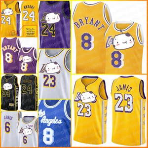 LeBron James Jersey 23 6 Los Angeles Baloncesto Bryant jerseys Earvin Johnson 32 Shaquille O'Neal 34 Anthony Davis Kyle Kuzma Hombres de Universi