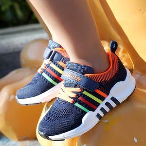 Unisex shoes 2020 qiu ji kuan kids sports running soft bottom comfortable primary hip hop trendy shoes
