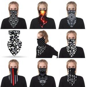 E2 8ysb Baskı Dış Mekan Boyun tozluk Yüz Shield Maske Çok Fonksiyonlu Soket Maskeler Binme Soprt önle Toz Rüzgar Motosiklet 3