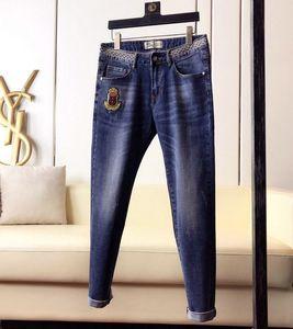2020 Mens Distressed Ripped Jeans Slim Fit Denim For Men Fashion Hip Hop Mens Jeans Good Quality#4785