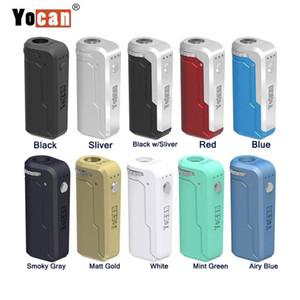 DHL 배송 Yocan UNI 상자 모 키트는 내장 650mAh 조절 전압 배터리와 OLED 디스플레이 화면 중국 새로운 Vape 펜 제품에서