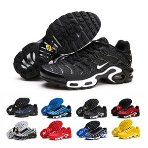 Hot Sell New Original2020 Tn Shoes New High Fashion Men Breathable Mesh Tn Plus Chaussures Off Requin Sports Trainers Shoes neys